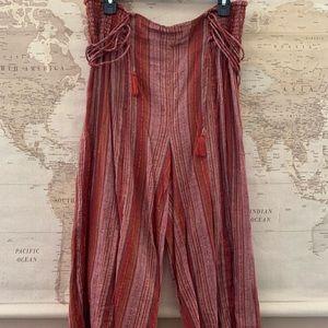 Boho Capri pants